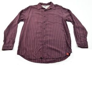 The North Face Mens Purple Long Sleeve Shirt